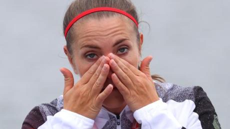 Hält die Bedingungen für Hochleistungssportlerinnen mit Kindern für unzureichend: Edina Müller.