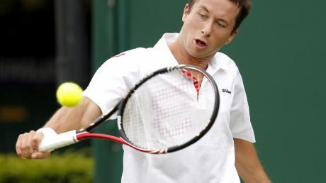Philipp Kohlschreiber ist in Wimbledon bereits in der ersten Runde ausgeschieden.