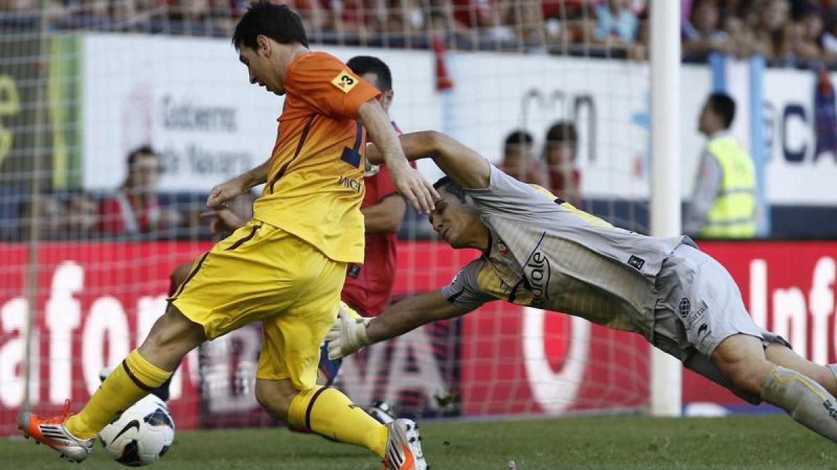 fußball messi rettet barcelonasieg in osasuna