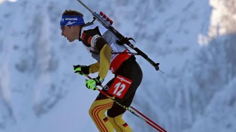 Andreas Birnbacher verpasste den Sieg nur knapp. Foto: Sergej Schirikow