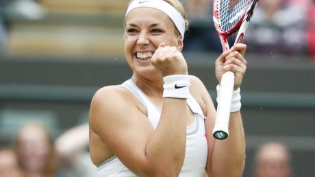 Laut ihrem Coach kann Sabine Lisicki das Wimbledon-Turnier gewinnen.