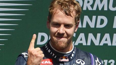 Sebastian Vettel peilt den nächsten GP-Sieg an.