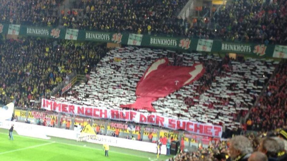 Fc Bayern So Machten Sich Die Bayern Fans Uber Dortmund Lustig Fc