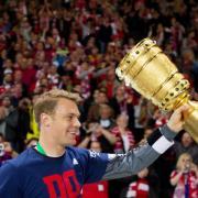 Der FCBayern München gewann zum 17. Mal den DFB-Pokal und schaffte damit das Double. Foto: Soeren Stache