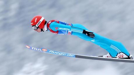 Richard Freitag belegte mit 129,5 Metern den fünften Platz.