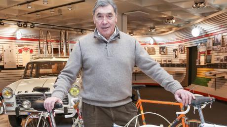 Das Fahrrad war sein Dienstfahrzeug: Eddy Merckx gewann 34 Etappen bei der Tour de France.