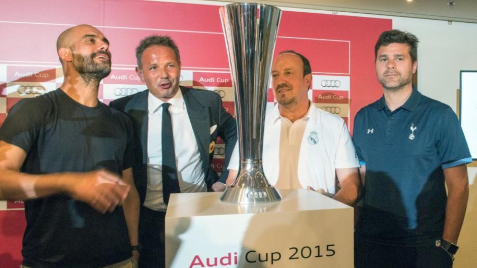 Fc Bayern Live Stream Hier Sehen Sie Den Audi Cup Live Im Stream