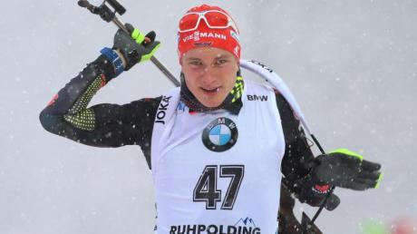 Benedikt Doll wurde über 20 Kilometer Achter in Ruhpolding.