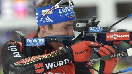 Simon Schempp gehört auch in Kanada zu den Favoriten auf den Sieg.