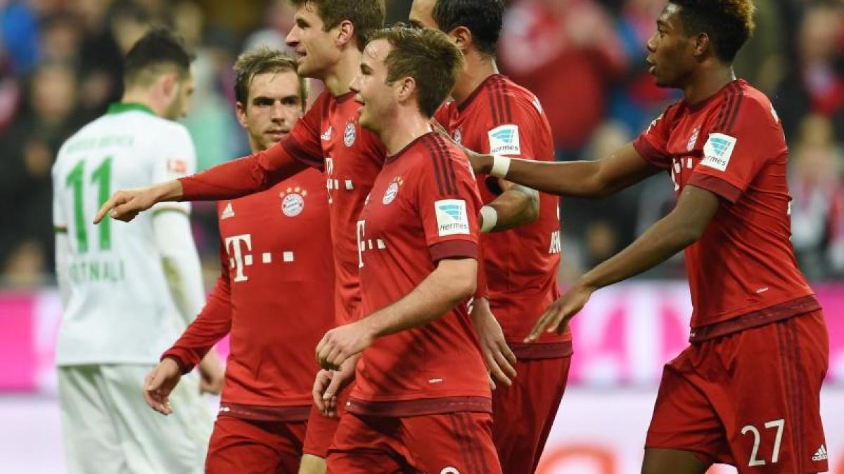 Fc Bayern Juve Kann Kommen Fc Bayern Beim Götze Comeback In