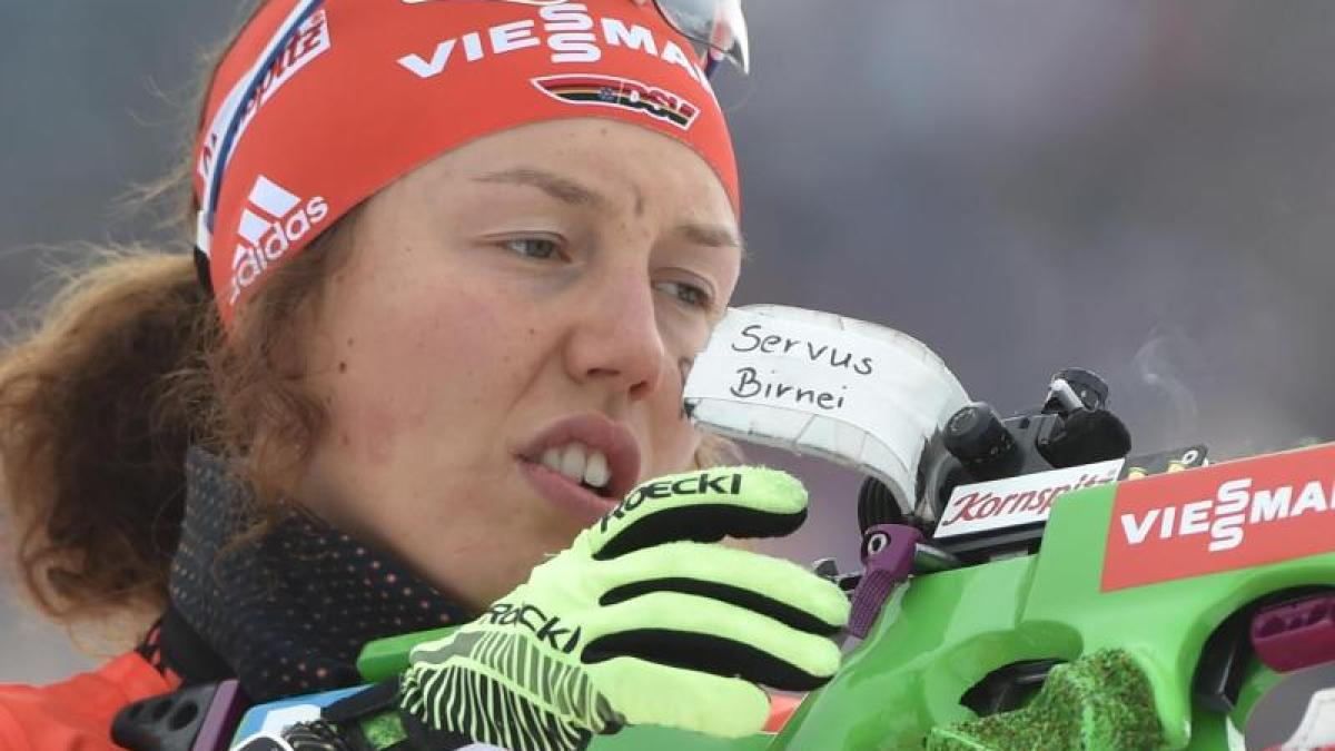 Laura Dahlmeier Biathlon Heute