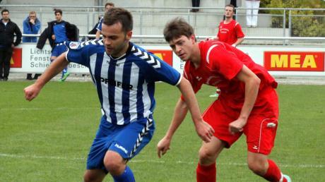 Emanuel Miok (rechts, früher am Ball für den TSV Kühbach) hat einen neuen Verein gefunden.