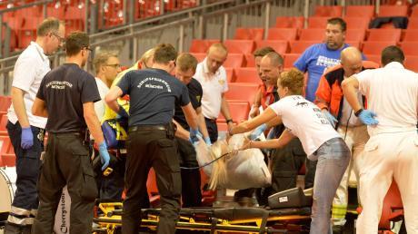 Julia Jerkic wurde im Audi-Dome erfolgreich reanimiert. Das lag auch daran, dass ein Defibrillator in der Halle war.