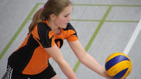 Voll konzentriert: Alma Hamzic vom TSV Neuburg.