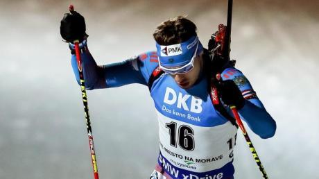 Der Russe Anton Schipulin sprintete in Nove Mesto auf das Podest.