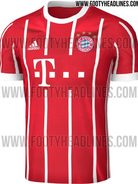 best loved 0bb58 f9f3e Bundesliga: Sieht so das neue Bayern-Trikot aus? - Sport ...