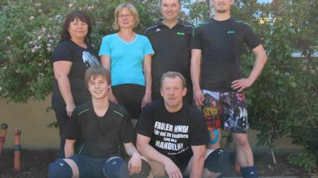 Das beim Dörferturnier siegreiche Mixedteam aus Merzingen und Mönchsdeggingen.