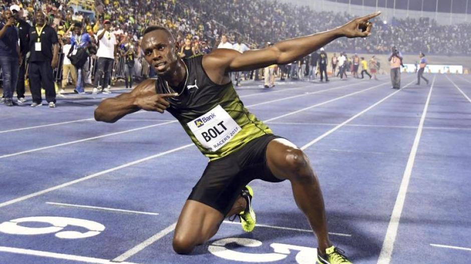 28f5d940b8eae Porträt: Usain Bolt: Der schnellste Mensch der Welt geht - Politik ...
