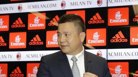 Der chinesischeGeschäftsmann Yonghong Li will den AC Mailand wieder zum Erfolg führen.
