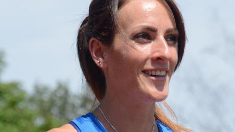 Kerstin Hirscher von der Bereitschaftspolizei Königsbrunn wurde bayerische Meisterin im Crosslauf.
