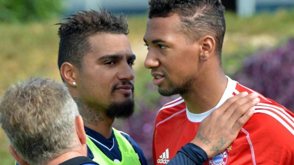 Bundesliga Boateng Gegen Boateng Das Bruderduell In Frankfurt