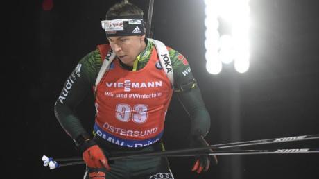 Steht bim Jagdrennen in Hochfilzen im Blickpunkt:Biathlet Philipp Nawrath.