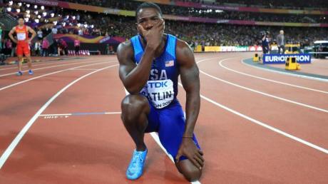 Schnell aber nicht sauber: der US-Sprinter Justin Gatlin.