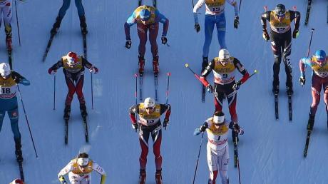 Bei der Tour de Ski wird der kompletteste Skilangläufer gesucht.