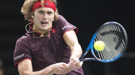 Alexander Zverev ist bereits die Nummer vier der Tennis-Welt.