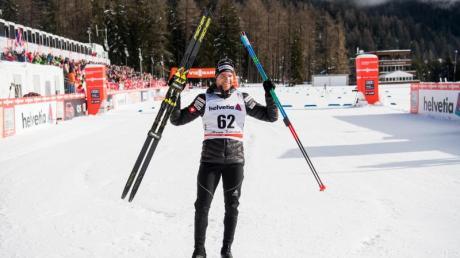 Der Schweizer Dario Cologna siegte in Lenzerheide. Foto: Jon Olav Nesvold