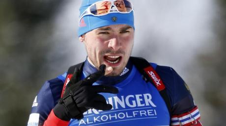 Anton Schipulin hat noch keine Einladung zu den Olympischen Winterspielen in Pyeongchang erhalten. Foto:Robert F. Bukaty