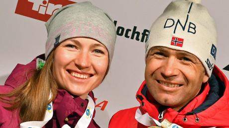 Darja Domratschewa und Ole Einar Björndalen haben im Sommer 2016 geheiratet.