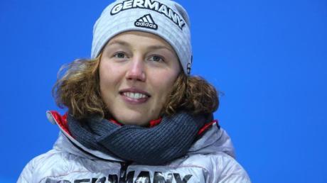Laura Dahlmeier hat sich nach den ersten Rennen wieder erholt und kann in der Mixed-Staffel antreten. Foto: Michael Kappeler