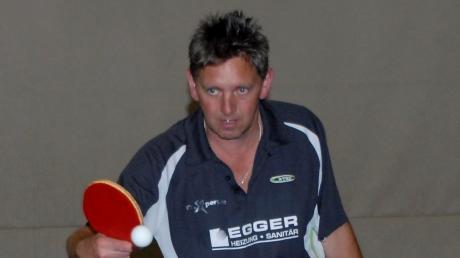 Einmal mehr bayerischer Seniorenmeister ist Peter Angerer.
