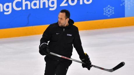 Für Coach Marco Sturm und die deutschen Eishockey-Cracks steht im Mai in Dänemark die WM an.
