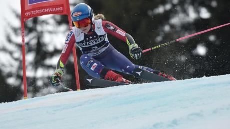 Sicherte sich Ofterschwang auch den Sieg im Slalom: Mikaela Shiffrin.