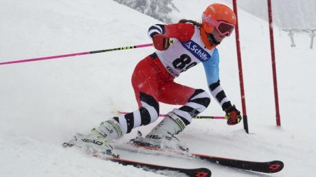 Angelina Markgraf wurde Gesamtsiegerin in ihrer Altersgruppe.