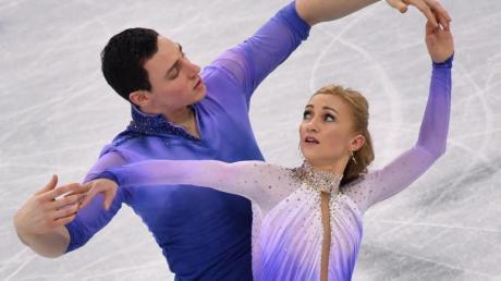 Aljona Savchenko und Bruno Massot streben bei der WM einen gemeinsamen Titel an.