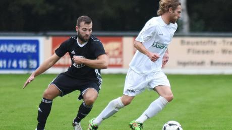 Starker Neuzugang für die kommende Saison: Stefan Huber (rechts) wechselt vom FC Gerolfing zum SV Karlshuld.
