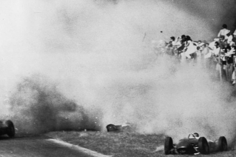 Formel 1 Der Tragische Tod Des Grafen Von Trips Augsburger Allgemeine