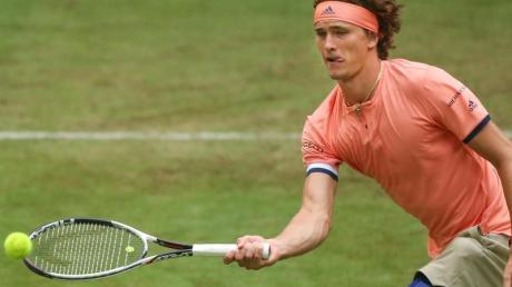 Alexander Zverev ist in Wimbledon an Position vier gesetzt.