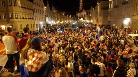 Haben die Kroaten in Augsburg am Sonntag wieder etwas zu feiern?