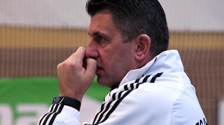 FCG-Trainer Florian Strehle blickt keineswegs skeptisch in die nähere Zukunft.