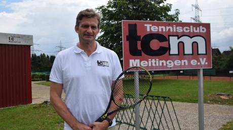 Hans-Jörg Rußwurm ist Vorsitzender des TC Meitingen und hat ehrgeizige Pläne.