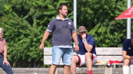 Der neue Trainer des FSV Dirlewang, Jürgen Huber, hatte gegen den TSV Ottobeuren das Nachsehen.