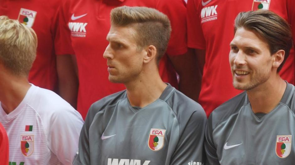 Andreas Luthe (links) und Fabian Giefer werden den FCA verlassen.