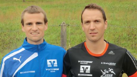 Andreas Beck (links) und Tobias Gröbl reihten sich in Berlin unter den besten deutschen Teilnehmern ein.