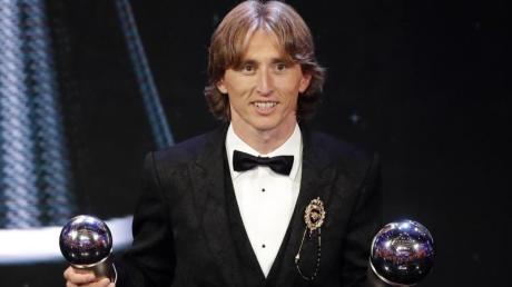 Ausgezeichnet: Weltfußballer Luka Modric.