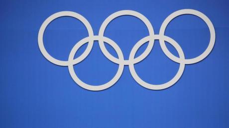 Das Logo des Internationalen Olympischen Komitees. Foto: Michael Kappeler