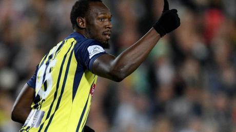 Usain Bolt möchte einen gut dotierten Vertrag bei den Central Coast Mariners bekommen.